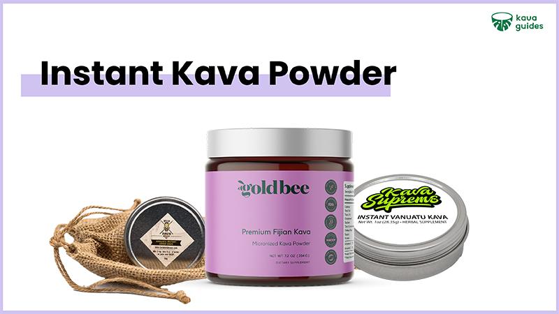 Top instant kava powder
