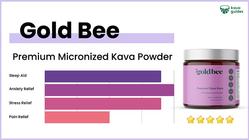 Gold Bee Premium Micronized Kava Powder
