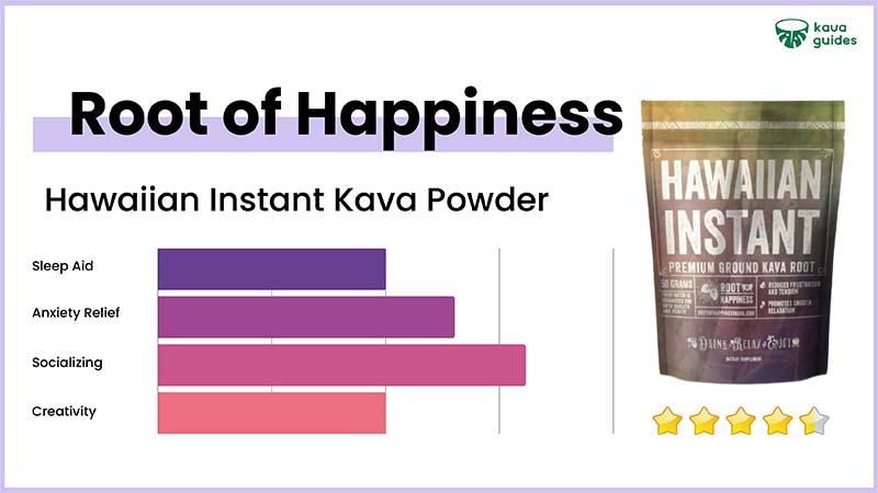 Root of Happiness Hawaiian Instant Kava